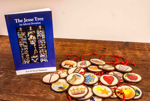 Jesse Tree Set: Book and 27 Ornaments Bundled