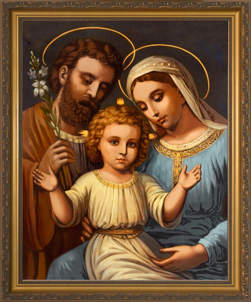 Italian Holy Family Framed Art