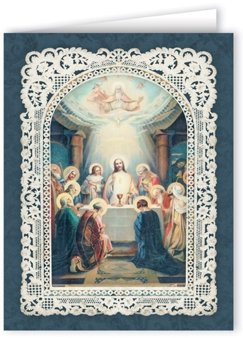 Ornate Last Supper Thank You Note Card