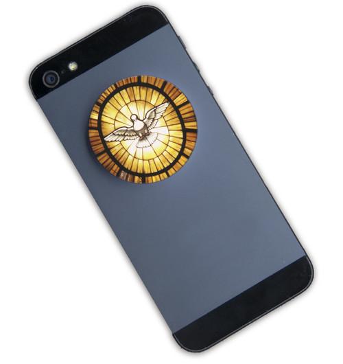 Holy Spirit Dove Pop-Up Phone Holder