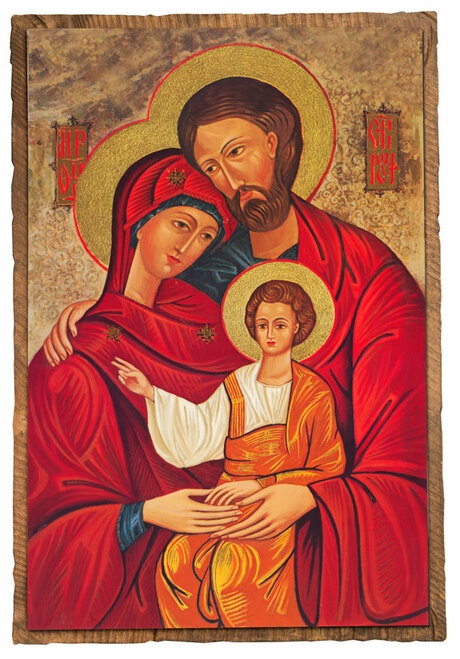 Holy Family Cloister Collection Catholic Icon Plaque