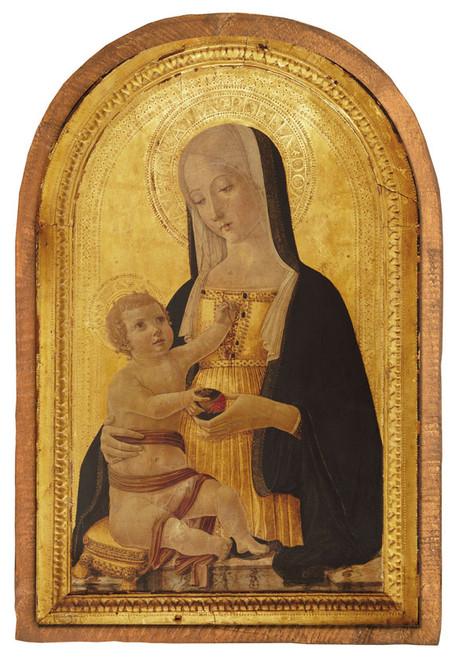 Madonna and Child by Benvenuto di Giovanni Cloister Collection Catholic Icon Plaque