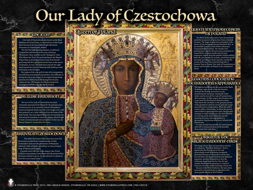 Our Lady of Czestochowa Explained Poster