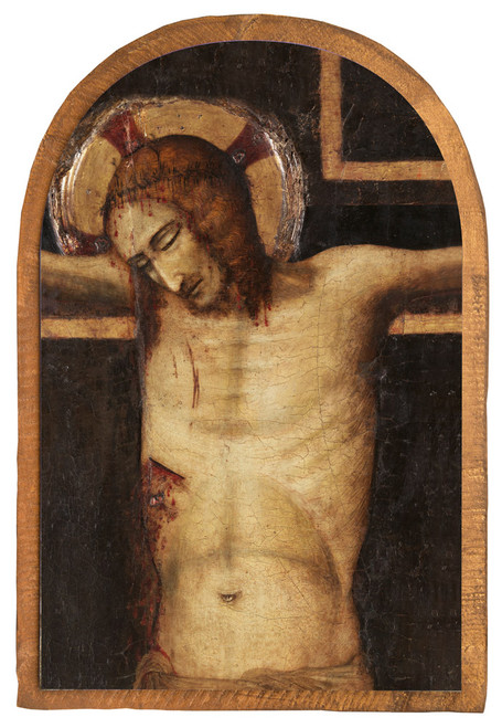 The Crucified Christ by Pietro da Remini Cloister Collection Catholic Icon Plaque