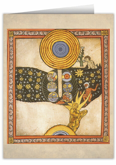 The Redeemer by St. Hildegard von Bingen Note Card