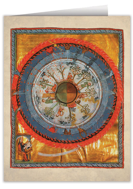 Humanity and Life by St. Hildegard von Bingen Note Card