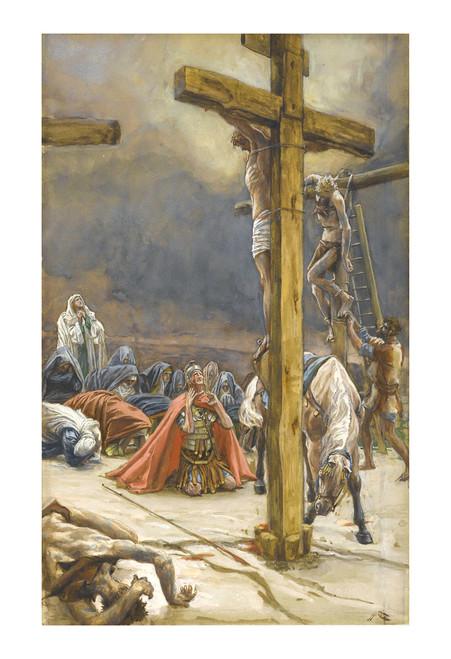 The Confession of St. Longinus Print