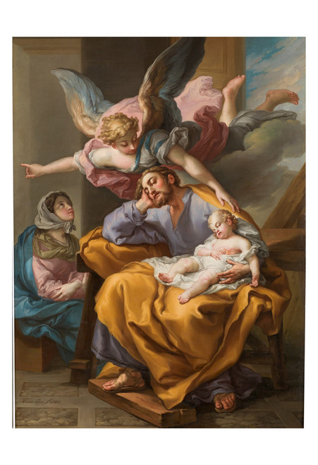 Joseph's Dream by Vicente López Portaña Print
