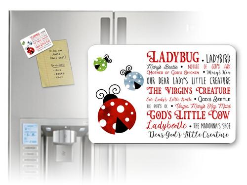 Ladybug Horizontal Magnet