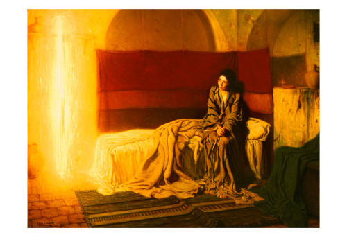 The Annunciation by Henry Ossawa Tanner Print