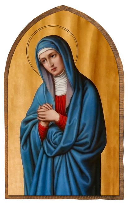 Mother of Sorrows Cloister Collection Catholic Icon Plaque