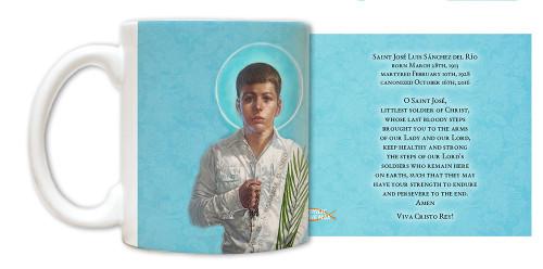 St. Jose Sanchez del Rio Mug