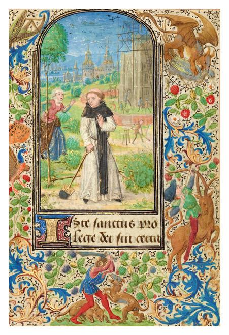 St. Fiacre's Trench by Lieven van Lathem Print