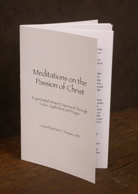 Meditations on the Passion of Christ Devotional Booklet by Paula Trzepacz