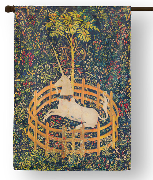 Unicorn Tapestry Outdoor House Flag