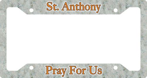 St. Anthony Plate Frame