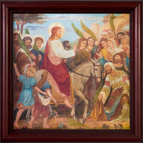 Christ's Triumphant Entry into Jerusalem Framed Art