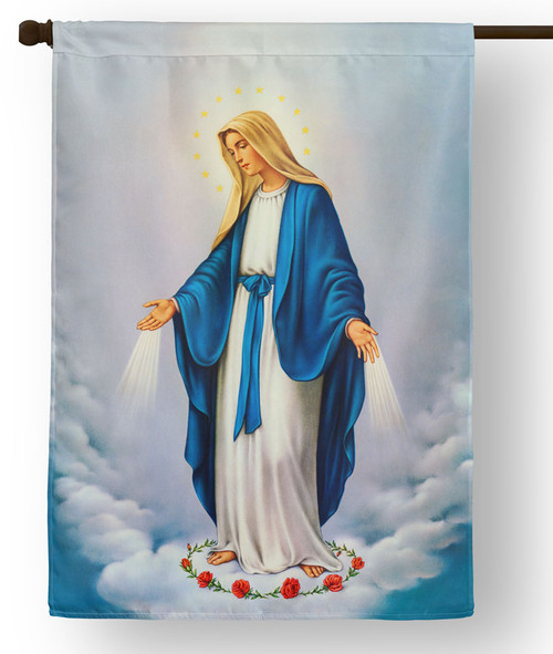 Our Lady of Grace Outdoor House Flag