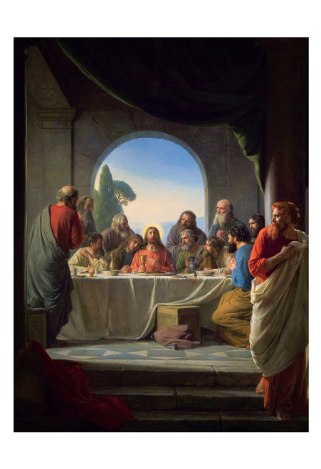 The Last Supper by Carl Bloch Print