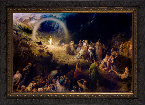 Vale of Tears by Gustave Doré - Ornate Dark Framed Art