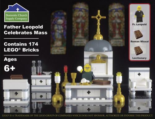 First Communion Lego Set - Father Leopold Celebrates Mass