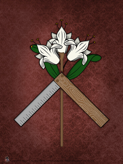 St. Joseph Symbol Graphic Poster