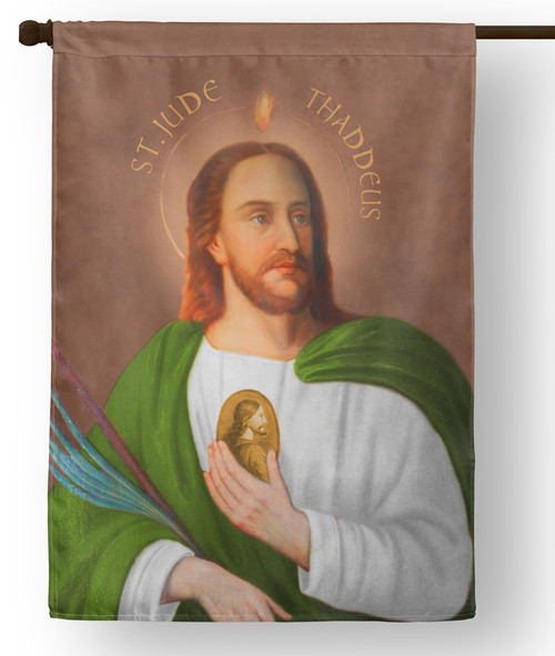 St. Jude Outdoor House Flag