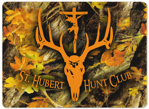 St. Hubert Hunt Club Rectangular Glass Cutting Board