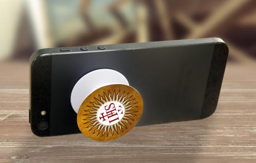Jesuit IHS Pop-Up Phone Holder