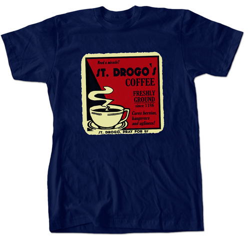 St. Drogo's Coffee T-Shirt