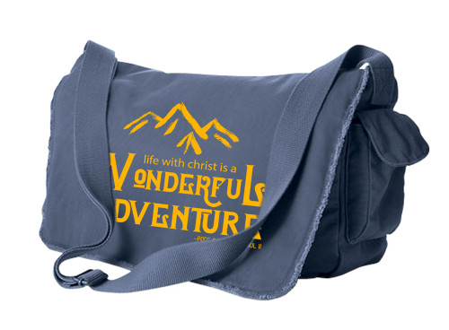 Wonderful Adventure Large Messenger Bag