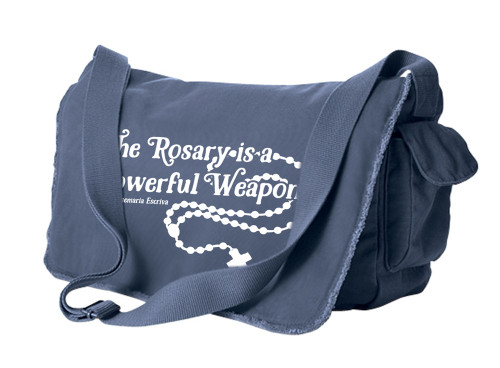 The Rosary Large Messenger Bag