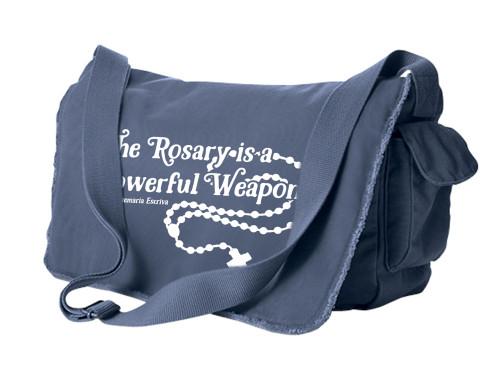 The Rosary Large Messenger Bag