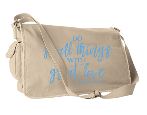 Do Small Things Large Messenger Bag