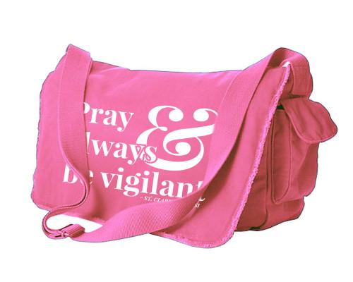 Pray and Always be Vigilant Large Messenger Bag