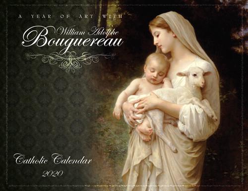 Catholic Liturgical Calendar 2020: William Bouguereau