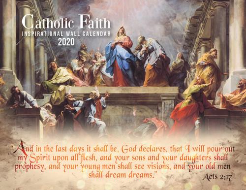 Catholic Liturgical Calendar 2020: Inspirational