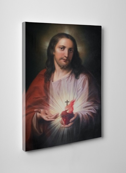 Austrian Sacred Heart Gallery Wrapped Canvas