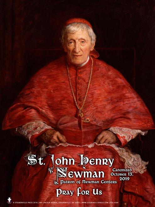 St. John Henry Newman Poster