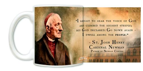 """I Sought"" St. John Henry Newman Mug"