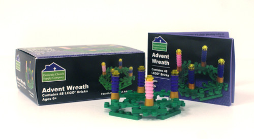 Advent Wreath Lego Set