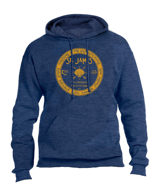 St. James Pilgrimage Outfitters Heather Navy Hoodie