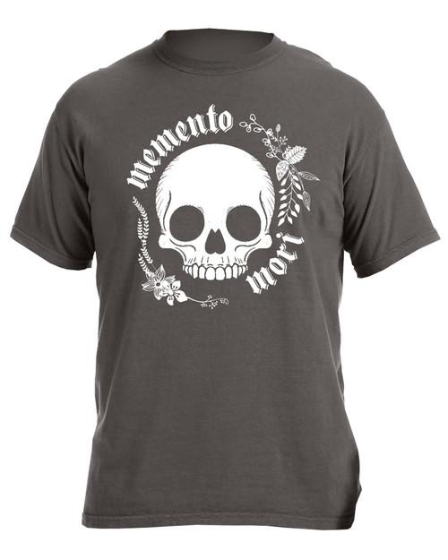 """""""Memento Mori"""" Pigment Black T-Shirt"""