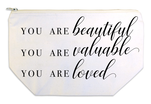 """You are Beautiful"" Multi Purpose Bag"