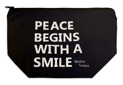 """""""Peace Begins"""" Multi Purpose Bag"""