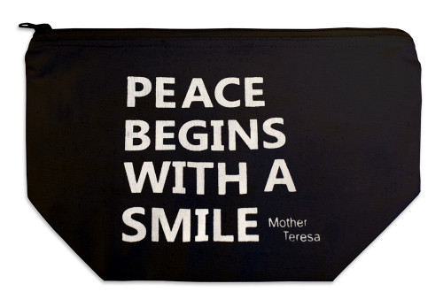 """Peace Begins"" Multi Purpose Bag"