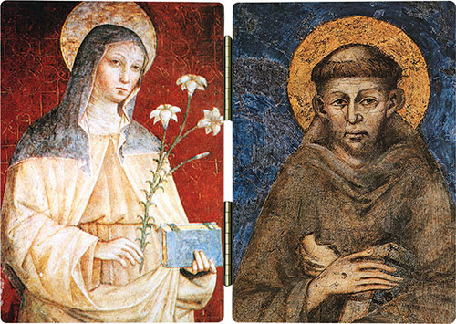 Sts. Francis and Clare Diptych