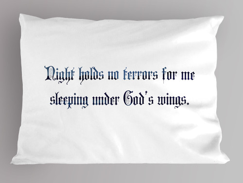 """Night Holds no Terrors"" Pillowcase"