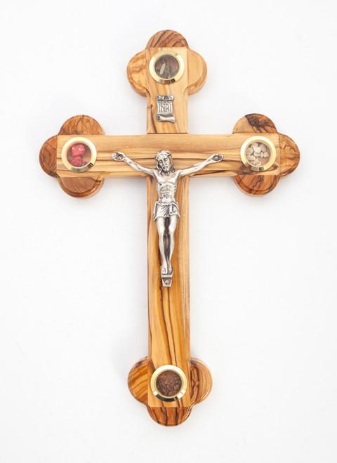 Large Olive Wood Crucifix