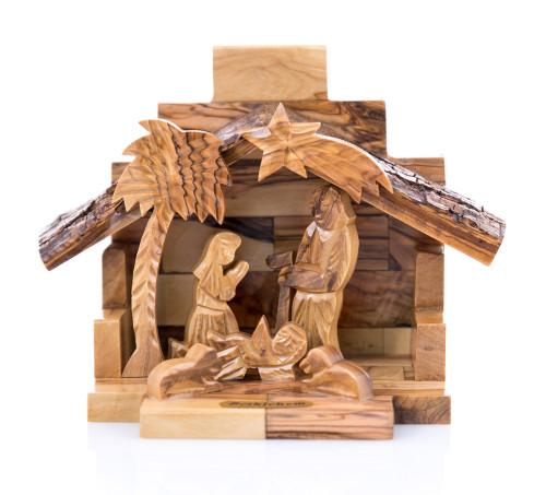Small Olive Wood Nativity